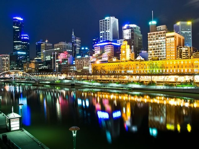 Yarra River, Southbank