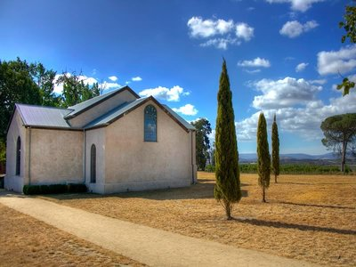 Chapel at Stones of the Yarra Valley Estate