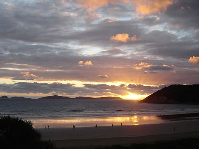 Sunset at Wilsons Prom