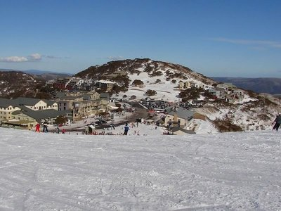 Mt Hotham Village Viewed from the Summit