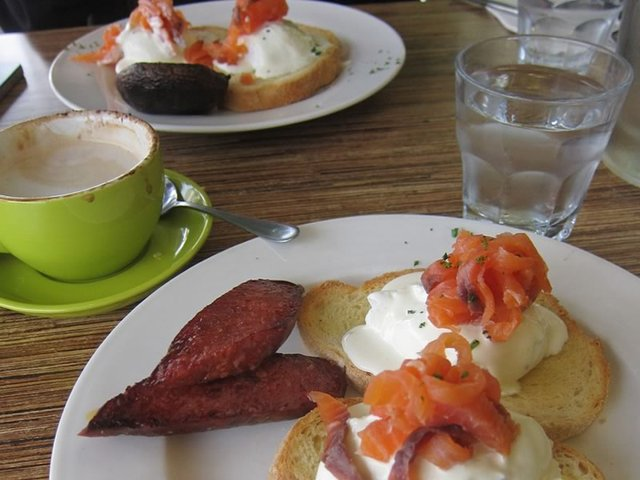 Breakfast, Zest Cafe Glenelg