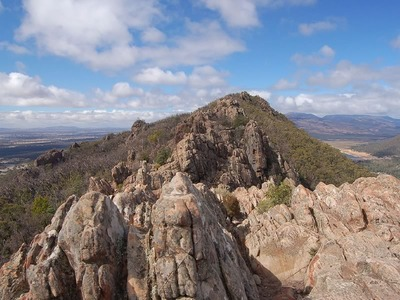Boronia Peak in the Grampians