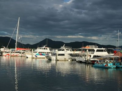 Storm over the Cairns Marina