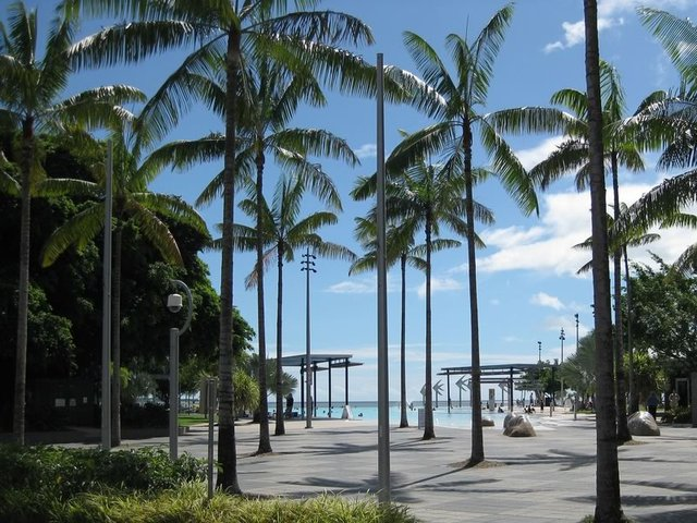 Cairns Esplanade and Lagoon