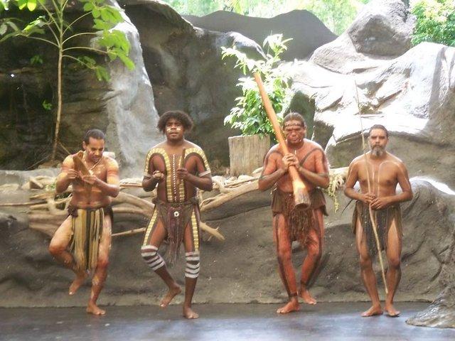 Tjapukai Indigenous Dancers