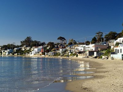 Beach at Opossum Bay