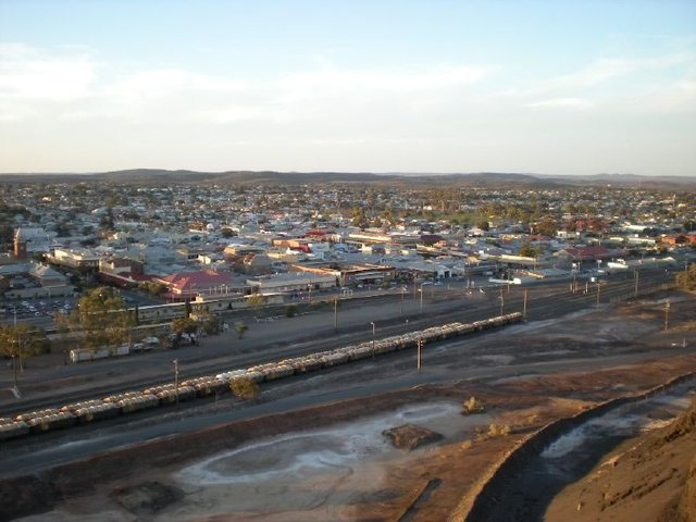View Over Broken Hill