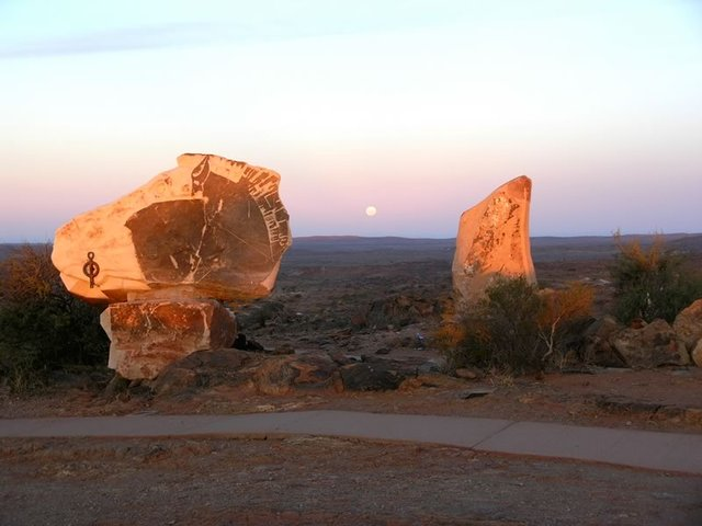 Sandstone Sculptures, Living Desert
