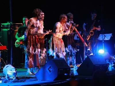 Performers at the Darwin Festival