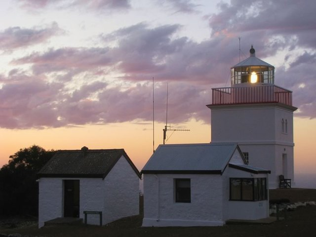 Dusk at the Cape Borda Lighthouse
