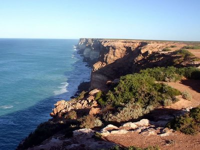 Bunda Cliffs at Head of Bight, Nullabor Plain