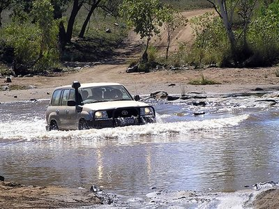Flooded Road Crossing, Purnululu National Park