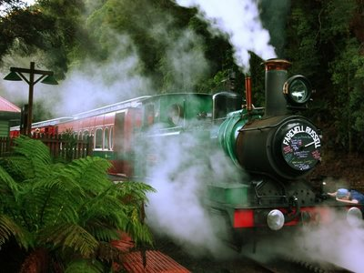 West Coast Wilderness Railway, Strahan
