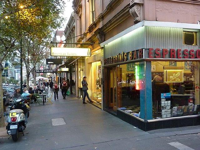 Pellegrini's Espresso Bar, Bourke St