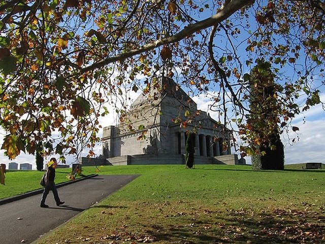 Shrine of Remembrance, Kings Domain Parklands