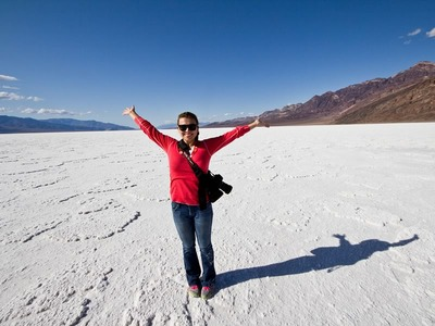 Salt Deposits, Badwater Basin