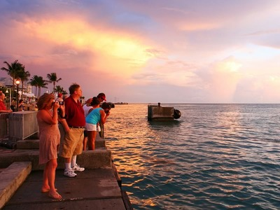 Sunset at Mallory Square