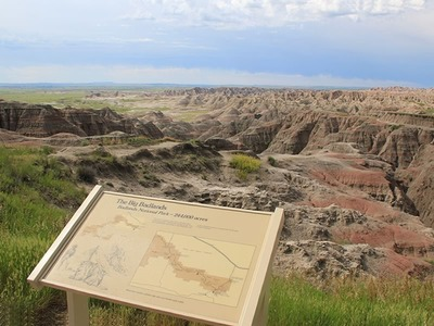 Big Badlands Overlook, Cedar Pass Unit