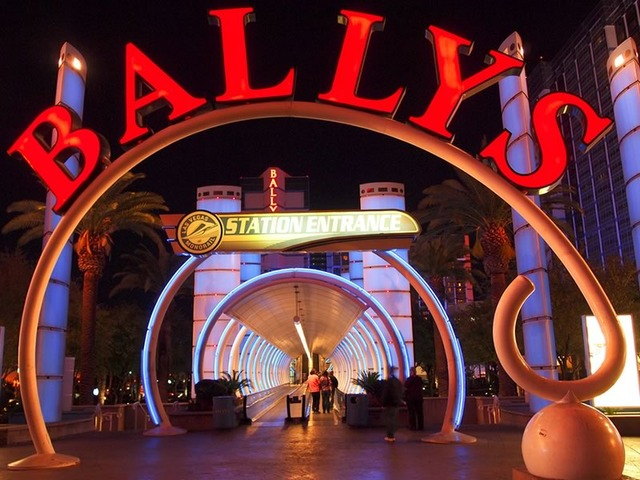 Monorail Station at Bally's