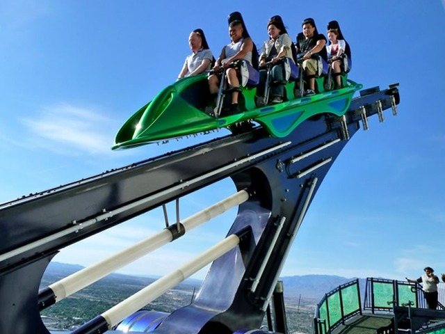 X-Scream Ride at Stratosphere Tower