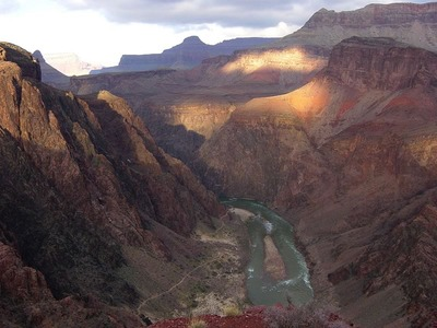 Colorado River from Panorama Point on the South Kaibab Trail
