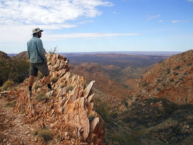 On the Larapinta Trail