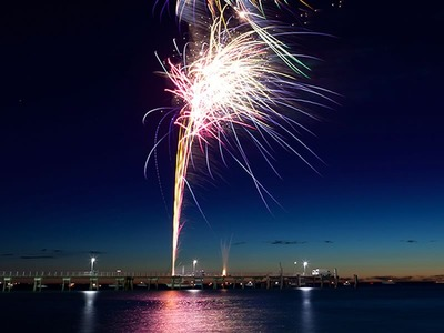 2012 New Year Fireworks at Glenelg Jetty