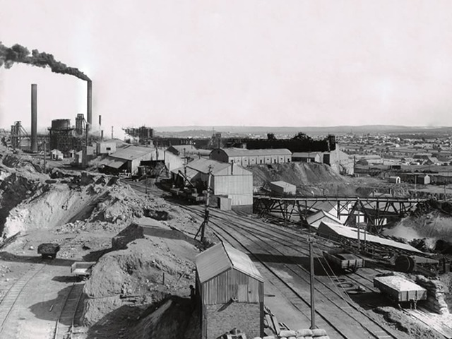 Broken Hill Looking Not That Much Different c. 1908