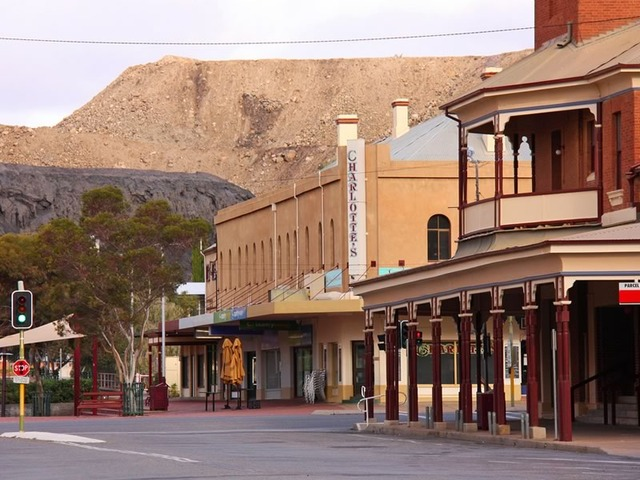 Broken Hill and its Mullock Heap