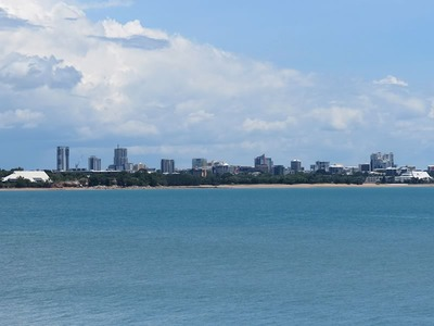 Darwin Skyline From East Point