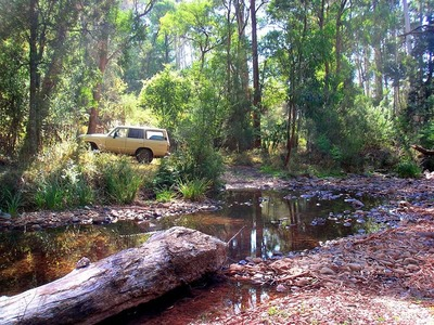 Four Wheel Driving Near Mt Bogong