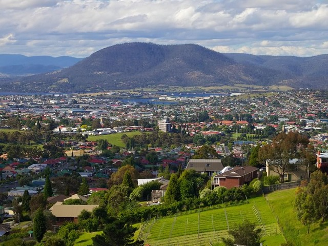 View Over Hobart